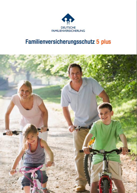 Famillienversicherung Cover