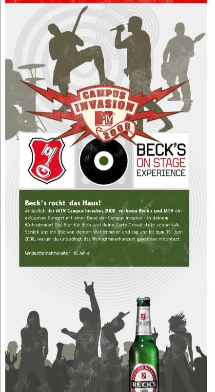 MTV Becks Campus Invasion